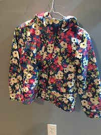 blue, pink, and white floral cardigan Pickering, L1V 4R3