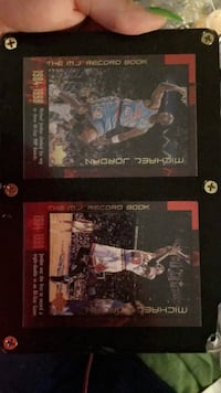 Micheal Jordan basketball cards. (Plated)  West Valley City, 84120