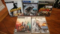 Ps3 games Mississauga, L5R 3A5