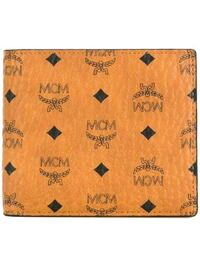 Luxury MCM Bifold Wallet in Visetos Original