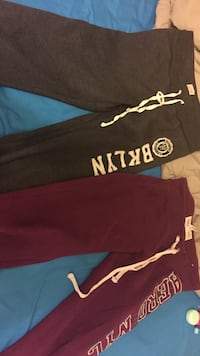 brown and red sweat pants Halifax, B3K 5V6