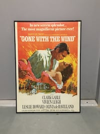 Gone With the Wind Poster 50x70cm Toronto, M4M 2T8
