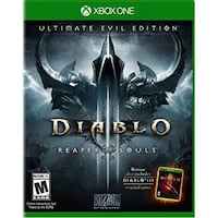 Diablo 3 Xbox One game New Westminster, V3L 3Y7