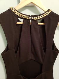 Black dress with gold accent Pembroke Pines