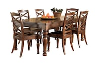 Porter 7 piece dining set - Over 75% off retail Washington, 20002