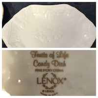 Lenox Fruits of Life candy dish Frederick, 21703