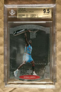 1995-96 SP All-Star #AS2 Michael Jordan (BGS 9.5) Clinton, 20735