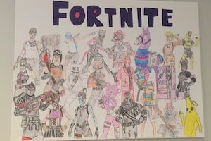 Fortnite drawing