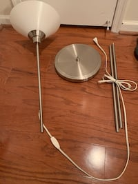 Ikea Kroby Nickel Floor lamp 16 mi