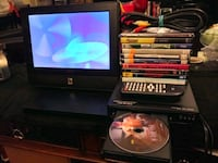 Like new Magnavox DVD ???? player with 10 dvds. Lakeland, 33810