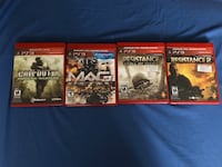 Assorted PS3 games Toronto, M3N
