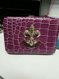 who dat purple and brass floral bag Conifer, 80433