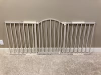 EUC Summer Infant Metal Expansion 6-Foot Wide Baby Gate St Albert, T8N 2T8