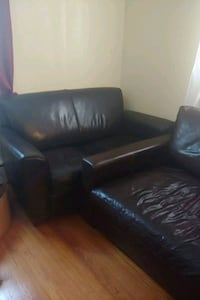 Leather couch and love seat Fort Washington, 20744