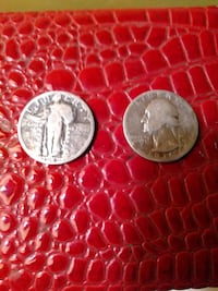 1929 SLQ. 1938. Both real Silver.  Bluemont, 20135