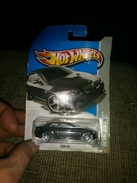 black Hot Wheels BMW M3 coupe scale model pack