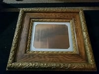 brown wooden framed wall mirror Woodbridge, 22192