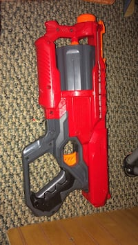 red and grey blaster toy gun Hammonton, 08037