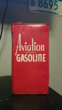 1944 Military Gas can / rare hand-painted logo