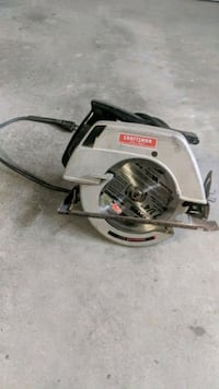 "Craftsman 7"" circular saw!"