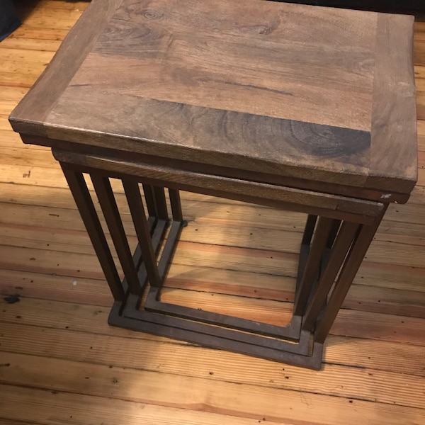 Pottery Barn Granger Nesting Tables Currently Selling For 399 Tax 200 Firm