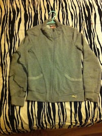 gray zip-up jacket Moncton