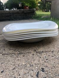 Brand new dinner soup and salad bowls. 96 total. Will sell in small sets. Bowls are still wrapped and sealed   Neptune, 07753