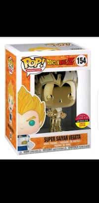 Funko Pop: Golden Super Saiyan Vegeta San Jose, 95110