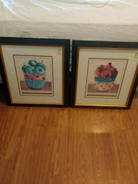 **$8 if pickup 9/15/19**2 framed pictures