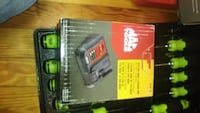 black and green Ryobi power tool box Harpers Ferry, 25425