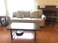 Ashley Furniture Coffee table set! Only $70 for these 3 items!