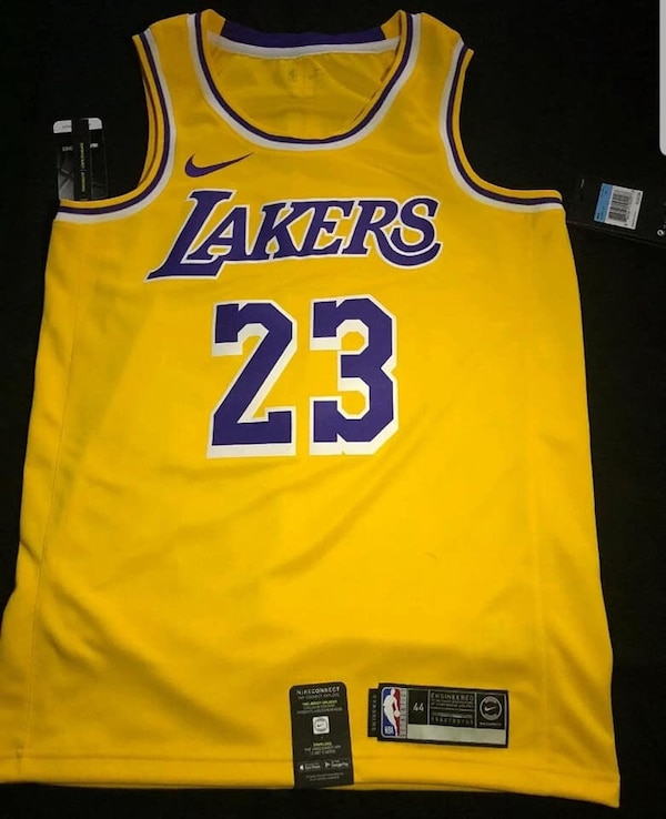 size 40 b366b aa1cc Lakers lebron James Jersey new/best offer