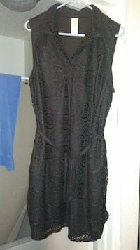 Black Lace Summer Dress NWT Sz. 2x