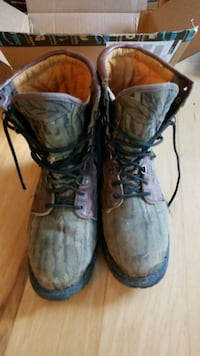 Rocky GorTex hunting boots - size 10 camouflage  Morrisville, 19067