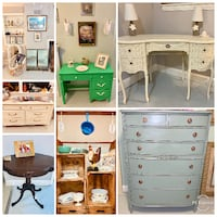 Fun Upcycled furniture and vintage home decor Kensington