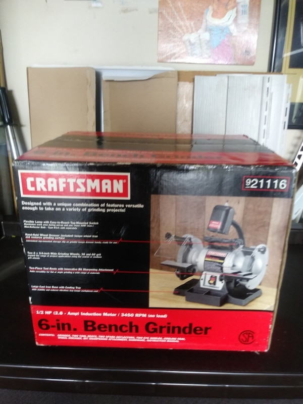 Prime Craftsman 6 Inch Bench Grinder New Creativecarmelina Interior Chair Design Creativecarmelinacom