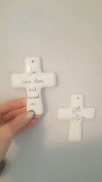 2 piece Cross wall decor San Angelo, 76903