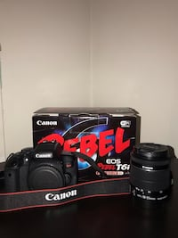 CANON REBEL T6i DSLR CAMERA  Mississauga, L4X