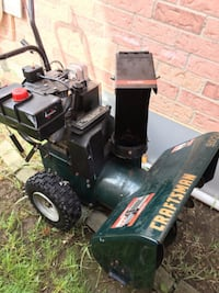 almost new craftsman snow blower TORONTO