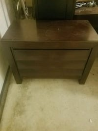 brown wooden 2-drawer nightstand San Antonio, 78237