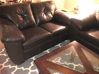 Faux leather sofa set Austin, 78759