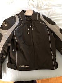 Motorcycle jacket almost new, worn a couple of times. Mississauga, L5V 1S8