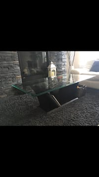 2 glass tables. 1 round and 1 rectangular one. Chilliwack, V2P 7N8