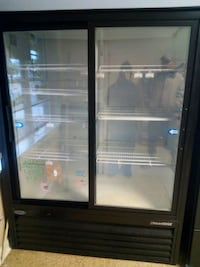 Industrial fridge a 120 outlet works great. contact me at  [TL_HIDDEN]