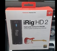 iRig HD 2 digital guitar interface for iPhone, iPad and Mac  Coquitlam