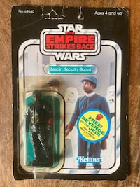 1982 Star Wars ESB Bespin Security