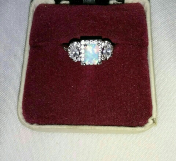 OPAL AND CZ RING IN HERNDON Virginia