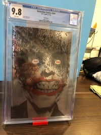 DETECTIVE COMICS #880 SILVER FOIL EDITION CGC BEST COVER THE YEAR 2019 Los Angeles, 91423