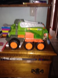 green and orange plastic toy truck Bethel Park, 15102