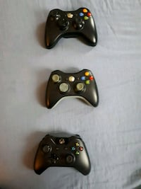 2 Xbox 360's & 1 Xbox One Controllers